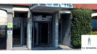 Porta girevole Hotel Laurin